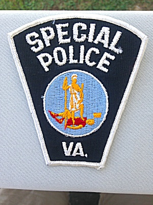 Special Police Virginia Patch