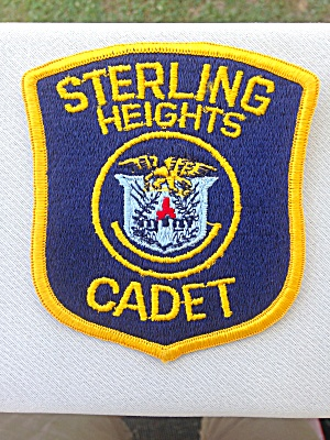 Sterling Heights Michigan? Cadet Police Patch