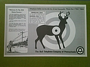 Bell Telephone Pennsylvania Hunter Awareness