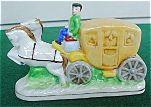 Occupied Japan Stagecoach Figure (Image1)