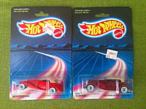 '31  Doozie  Mercedes 540K Hot Wheels in Pack (Image1)