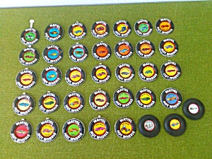 Old Hot Wheels Badges