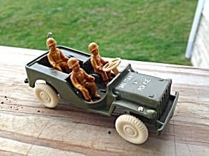 Vintage Thomas Military Police Jeep (Image1)