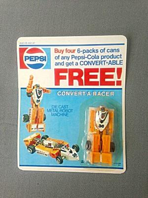 Pepsi Transformer Promo Convert-A-Racer (Image1)