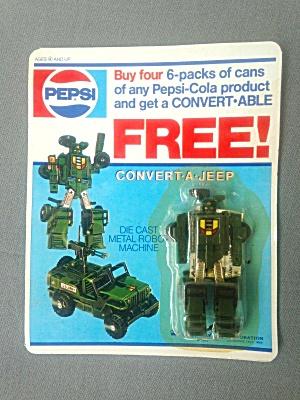 Pepsi Transformer Promo Convert-A-Jeep (Image1)