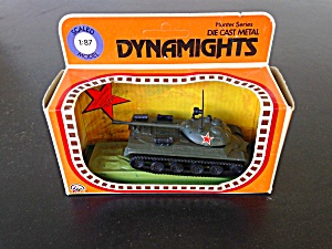 Dynamights Die Cast German King Tiger Tank