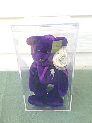 Princess Di Beanie Baby W/case