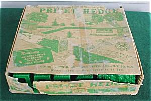 Marx Privet Hedge w/Box (Image1)
