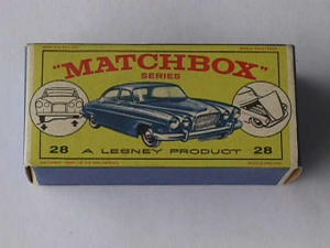 Matchbox Mark Ten Jaguar w/Box (Image1)