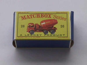 Matchbox Series No. 26 Foden Cement Mixer Tru (Image1)