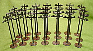 Marx Playset Telephone Poles
