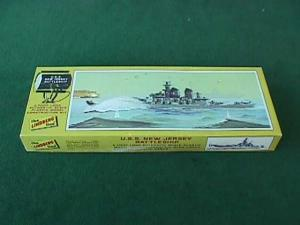 Lindberg USS New Jersery Battleship Model Kit (Image1)