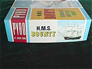60s Unassembled Pyro H.M.S. Bounty Ship Mode (Image1)