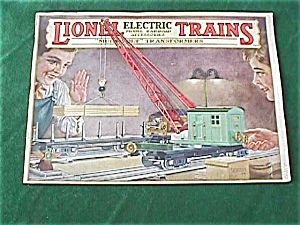 1928 Lionel Electric Toy Train Catalog (Image1)