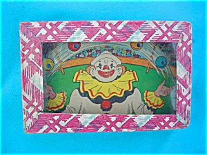 1950's Clown Puzzle-Type Game (Image1)