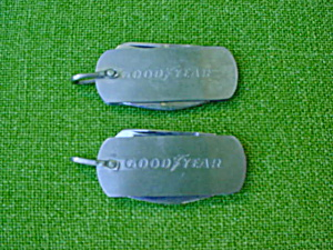 Pr. of Goodyear Tire Adver. Pocket Knives (Image1)