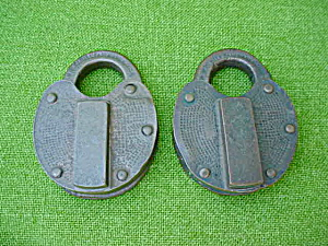 Matching Pr. J.H.W. Climax Brass Locks (Image1)