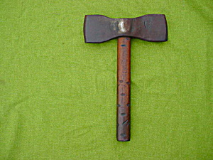 Early Hand Forge Double Hand Axe (Image1)