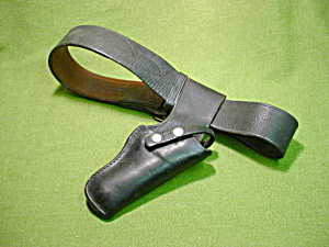 Old Leather Gun Holster (Image1)