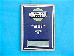 Stanley No. 34 Tool Catalog (Image1)
