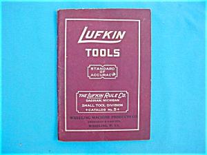 Lufkin No. 5 Tool Catalog (Image1)