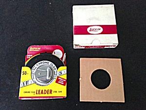 Lufkin Chrome Clad 50ft Steel Tape Unused (Image1)