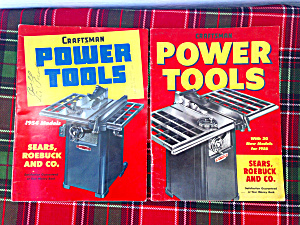1950's Craftsman Power Tool Catalogs (Image1)