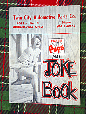 1961 Parts Pup Joke Book/magazine