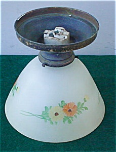 Early Floral Ceiling Light Fixture (Image1)