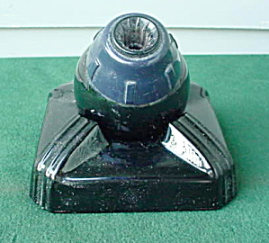 Old Swiv-O-Dex Glass Inkwell (Image1)