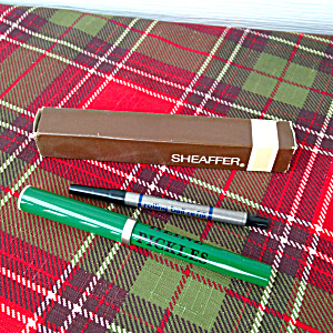 Adver. Heinz Pickles Sheaffer Pen w/Box (Image1)