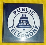 Early, Bell System Public Telephone Porcelain