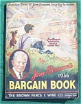 1936 Jim Brown's Bargin Book Catalog