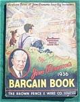Click to view larger image of 1936 Jim Brown's Bargin Book Catalog (Image1)