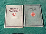 1920's Miller Auto. Feeders Printing Catalogs