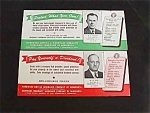 Click here to enlarge image and see more about item adv33: 1940's Parkersburg WV Insurance Ink Blotters