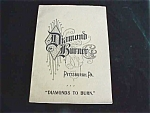 Diamond Burner Pittsburgh Gas Grate Catalog