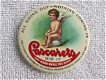 Cascarets Advertisement Pocket Mirror