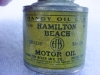 Click to view larger image of Hamilton Beach Motor Oil Can Tin (Image2)