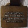 Click to view larger image of Ohio Machinery Co. Caterpillar Fob (Image3)