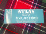 Click here to enlarge image and see more about item b78: Vintage Hazel Atlas Fruit Jar Label Booklet