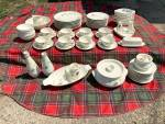 50+ Pc Franciscan Autumn Leaves Dinner Set