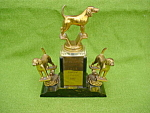 Click to view larger image of 1957 Champion Dog Trophy (Image1)