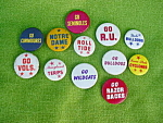 College Pinback Collection