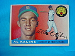 Click to view larger image of 1955 Topps Al Kaline Baseball Card (Image1)