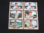 Click here to enlarge image and see more about item base37: (35) '55 Bowman Cards Elston Howard RC