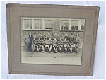 Click here to enlarge image and see more about item base46: 1923 Football Team Photo w/African Americans