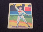 1935 DIAMOND STARS HOF BILL TERRY NY GIANTS