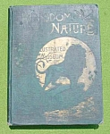 1800's Illustrated Book Kingdom of Nature