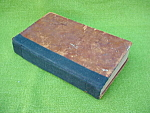 1833 Book:  Record of Crimes U.S. Criminals